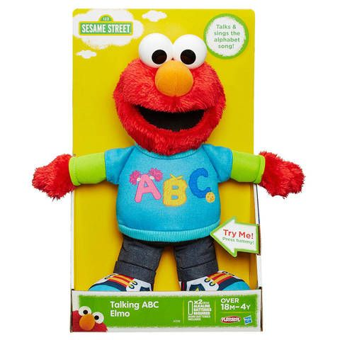 Playskool Friends Sesame Street Talking Abc Elmo Figure Target