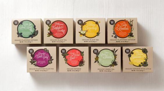 TE Organic Tea - Cases - Marken - Peter Schmidt Group 2015: