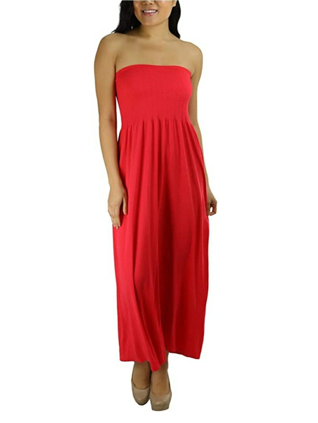 Tobeinstyle Women S Summer Tube Top Mini Dress Tube Dress Dresses Mini Tube Dress [ 1436 x 1080 Pixel ]