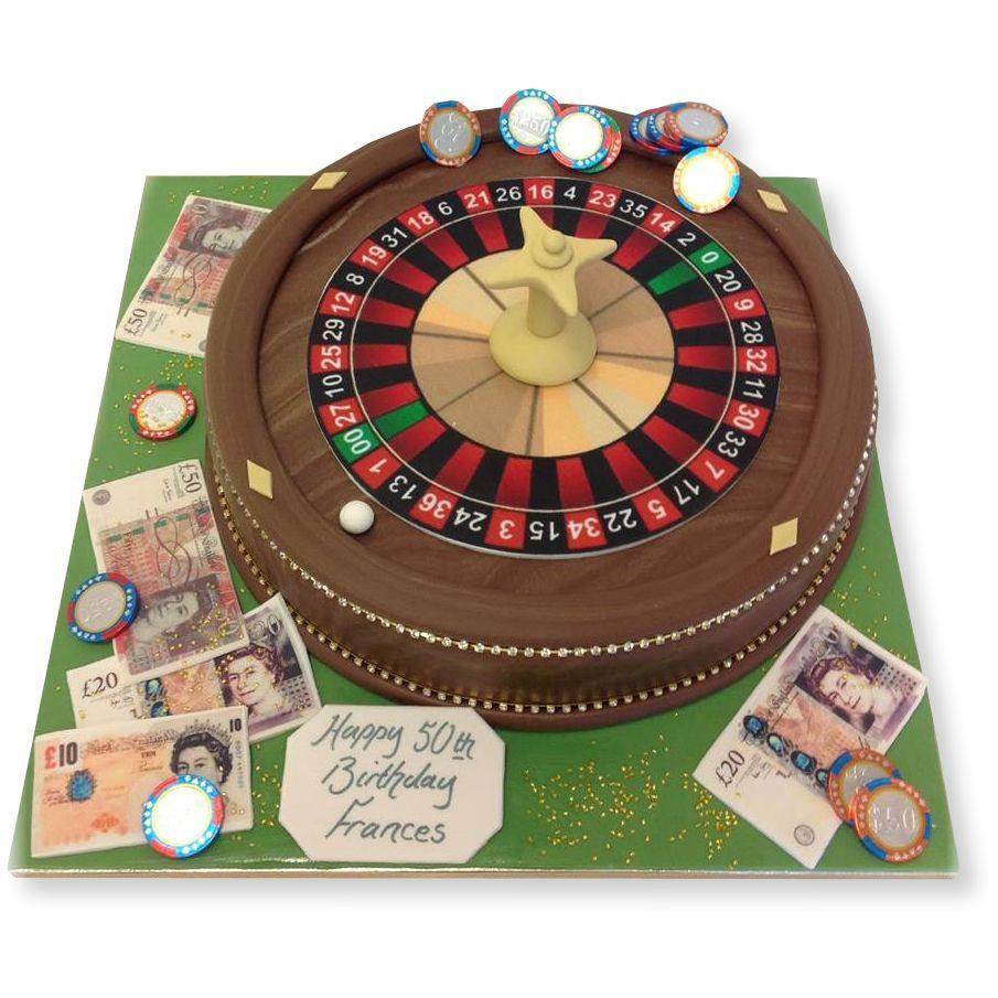 Roulette Wheel Cake Wheel cake, Roulette table, Casino cakes