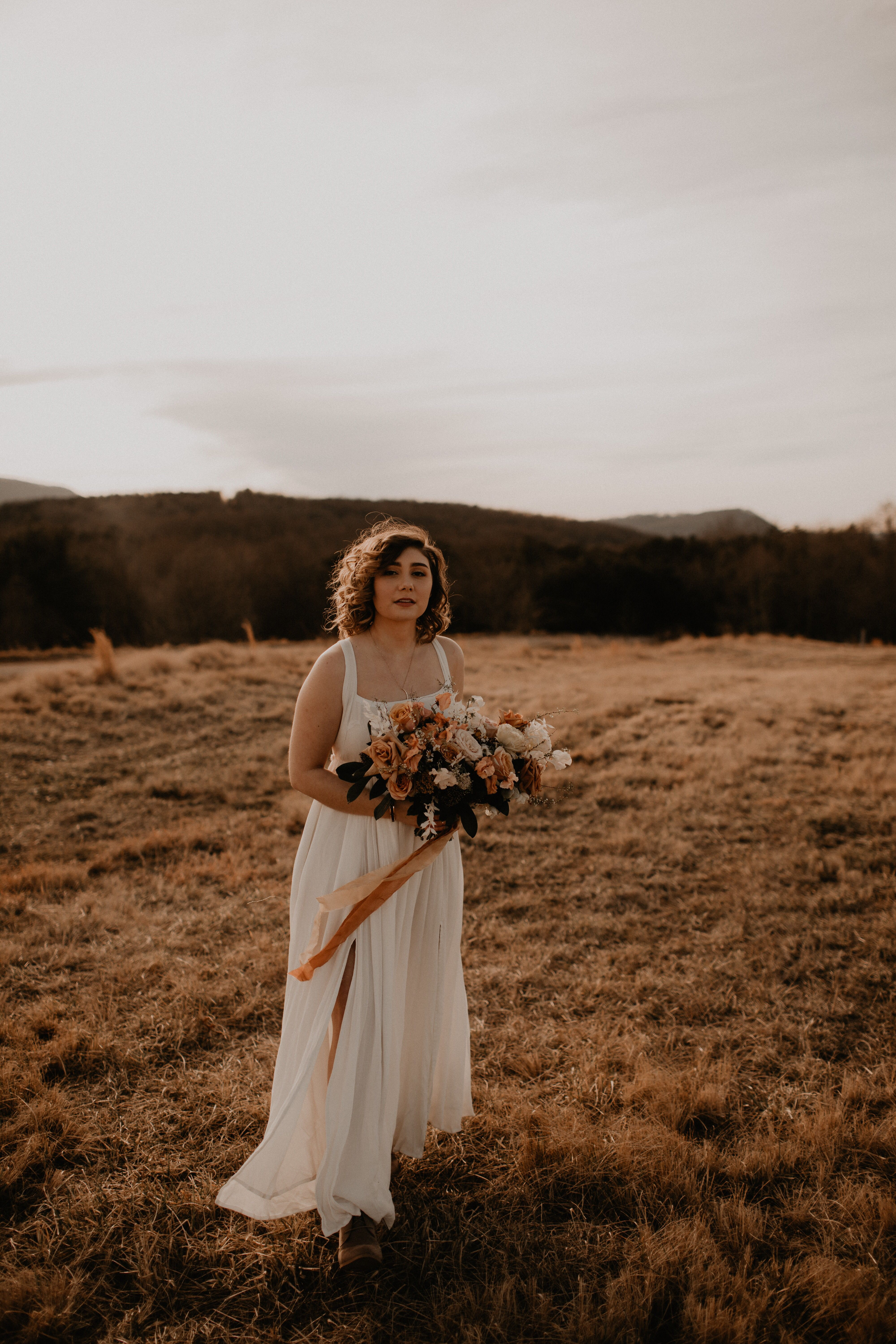 Free People Wedding Dress Elopement Engagement Hailes8 Hailey