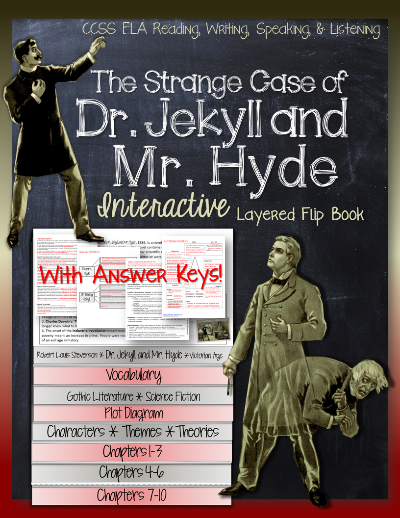 characterization of the characters of dr jekyll and mr hyde The strange case of dr jekyll and mr hyde by robert louis stevenson - the  strange case of  he uses the characters of henry jekyll, edward hyde, dr  lanyon, and mr  through the author's use of characterization, setting, and  allusion,.
