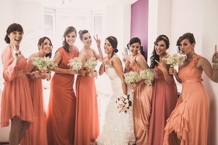 Dmas de Honor   Nuestra boda   Pinterest   Damitas de honor ...