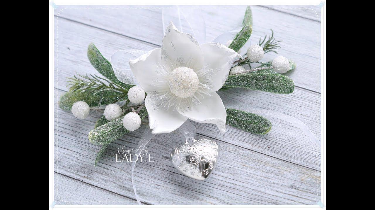 Very Simple Foamiran Flower Tutorial Free Template Emilia Sieradzan Flower Tutorial Flower Video Tutorials Flowers