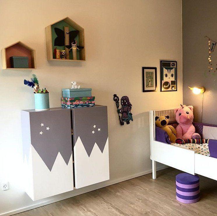 IKEA IVAR Hack Das Holzregal im Kinderzimmer (mit Bildern