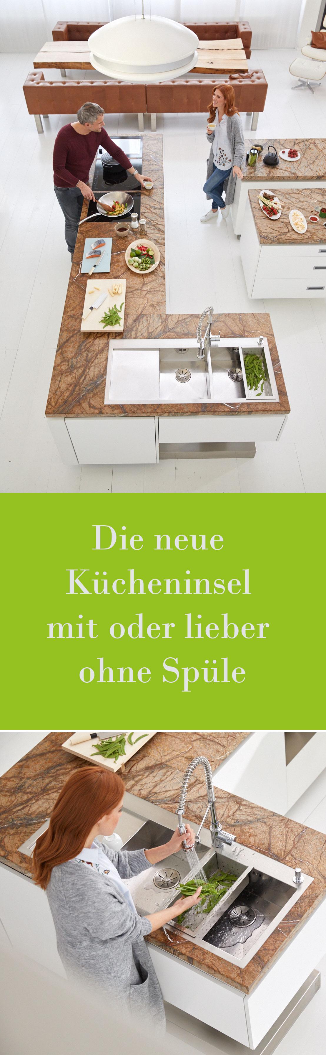 Die neue Kücheninsel mit oder lieber ohne Spüle | Pinterest ...