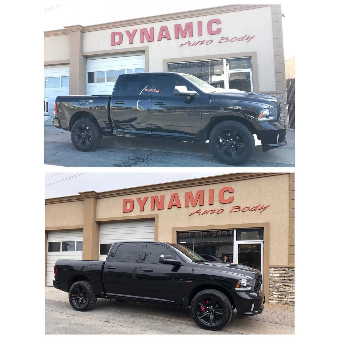 2017 Dodge Ram Took A Hard Hit But We Made It Look Absolutely Fantastic If You Ve Been In An Accident Call 631 41 Auto Body Auto Collision Repair Body Tech
