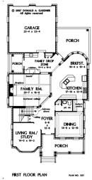 The Tipperary House Plan W GOO 1201 FAMILY DROP ZONE