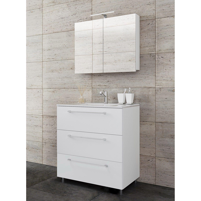 Badezimmerset Melville Iv 3 Teilig Waschtischunterschrank Waschtisch Set Und Unterschrank