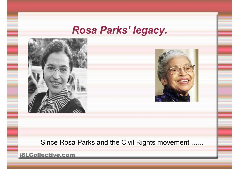 Rosa Parks Legacy