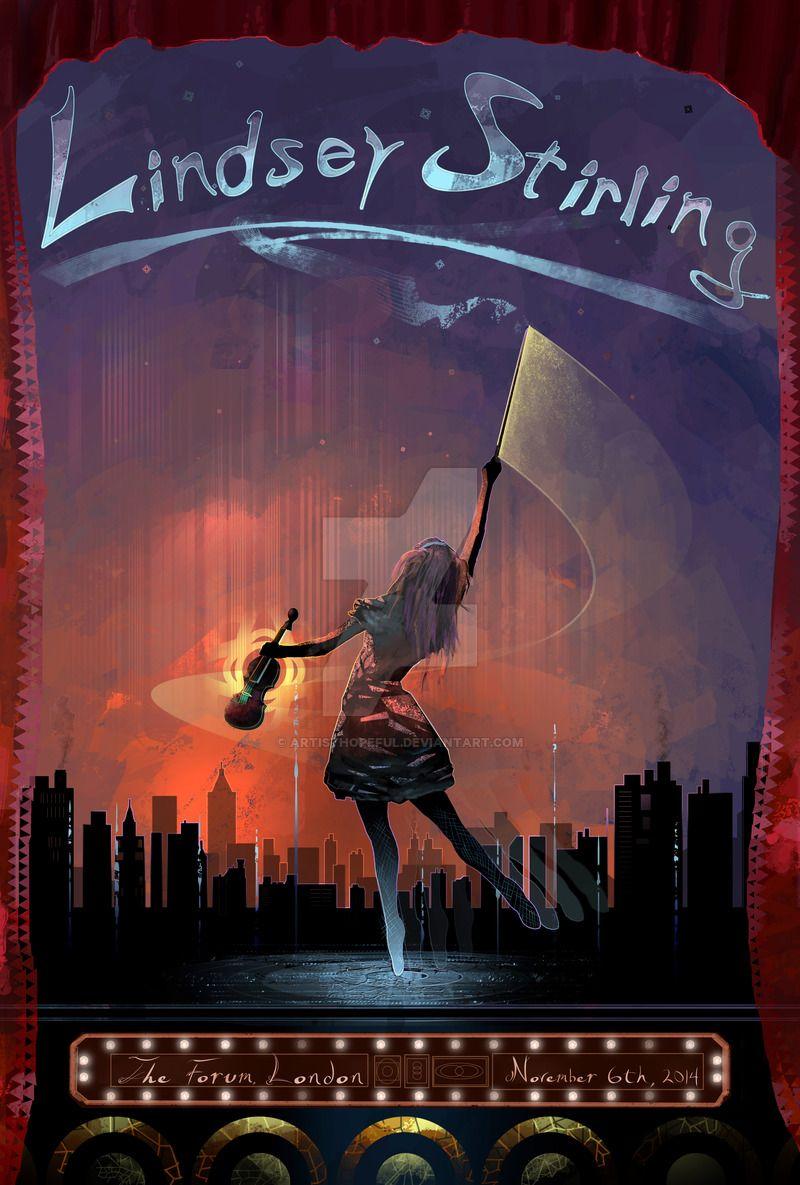 Poster A3 Lindsey Stirling Violin Fiddle Music Musician Cartel Decor 07