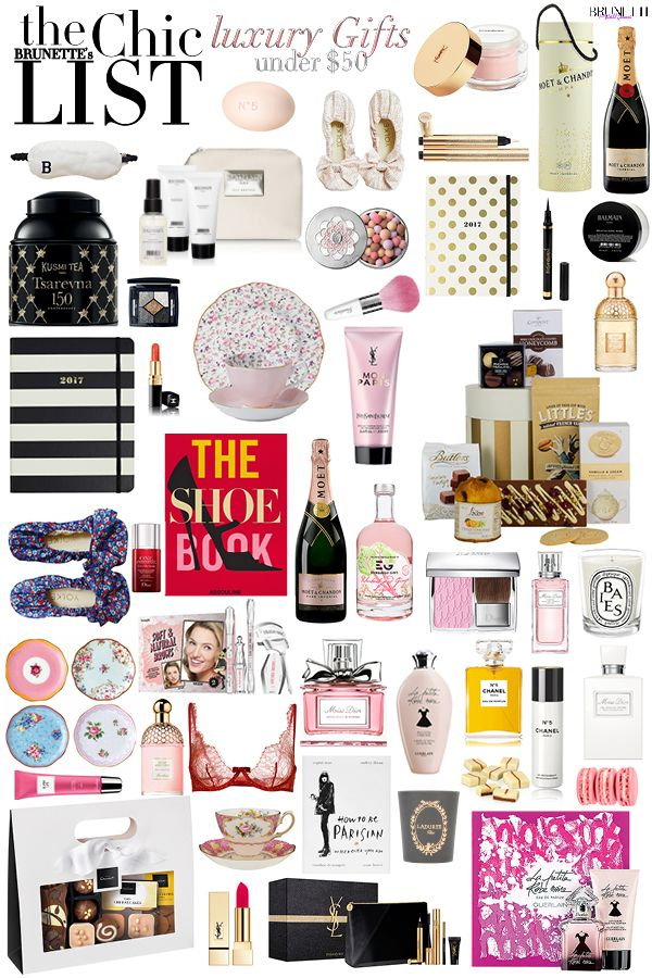 Fashion Blogger Veronika Lipar Of Brunette From Wall Street Sharing Her Under 50 Luxury Gift Guide