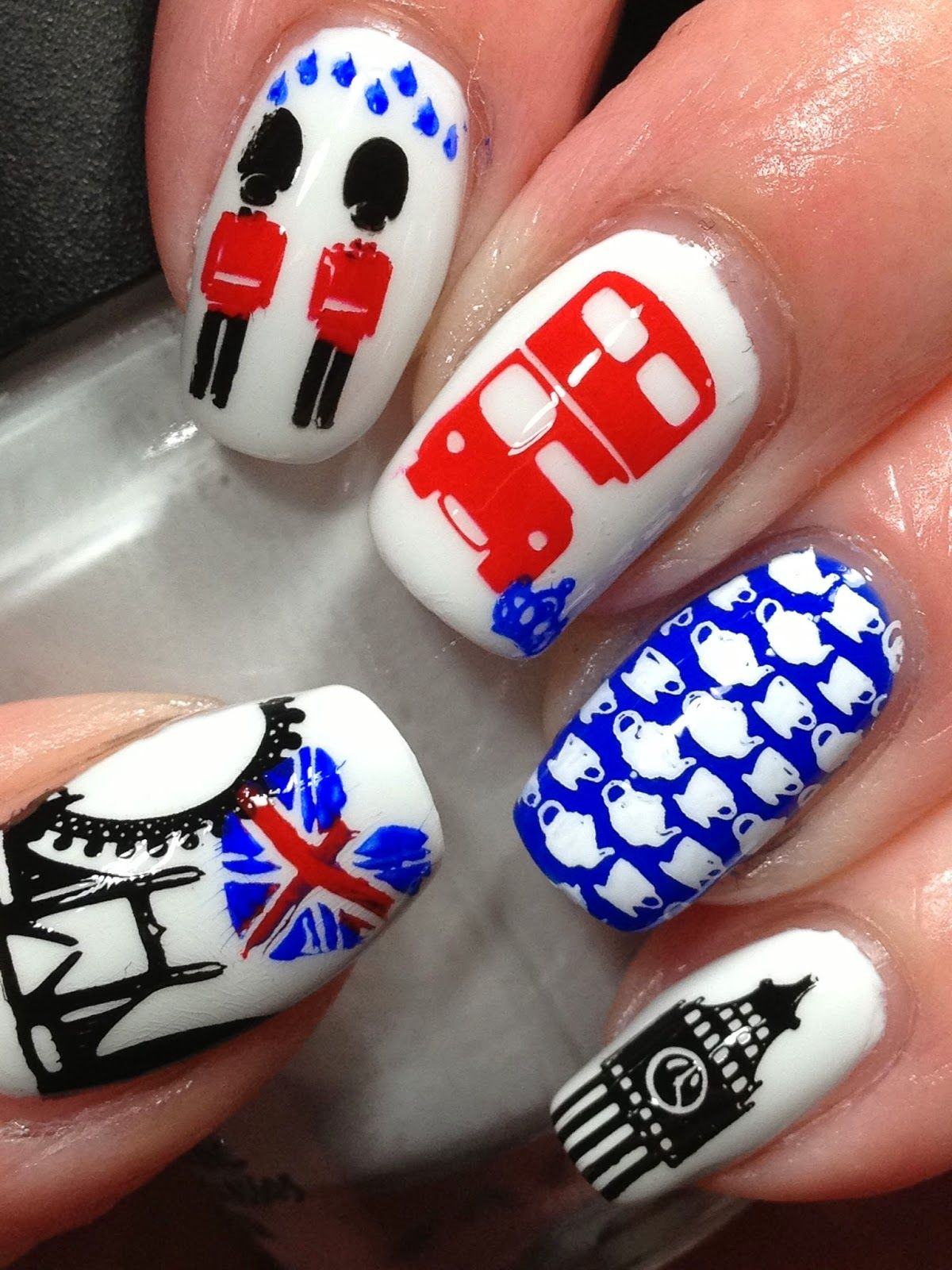 With tardis for kelli girly pinterest london nails nail girly pinterest london nails nail nail and makeup prinsesfo Gallery