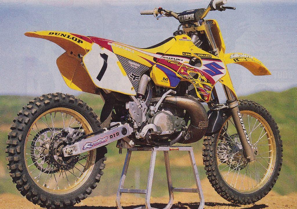 Jeremey Mcgraths Rm250 Yamaha Motocross Suzuki Dirt Bikes Cool Dirt Bikes