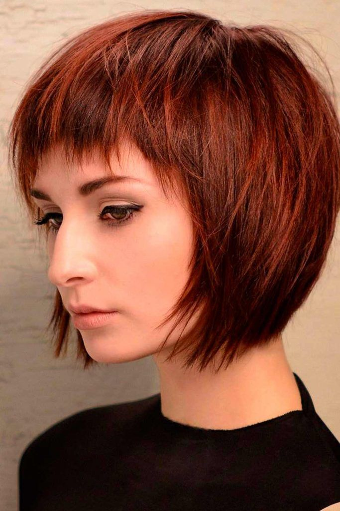 25 Ideas Of Wedge Haircut To Show Your Hair From T