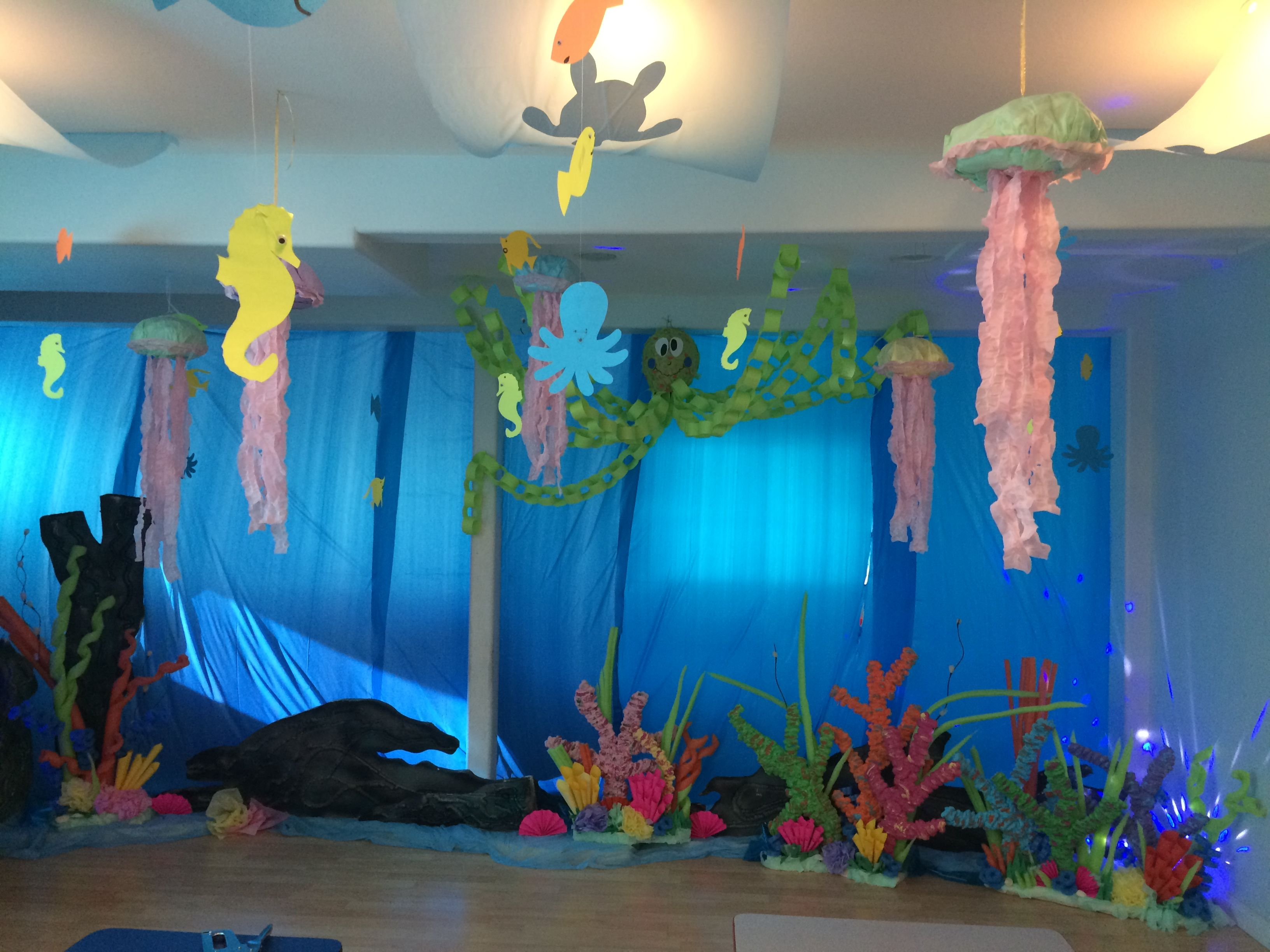 Underwater Themed Vbs Room