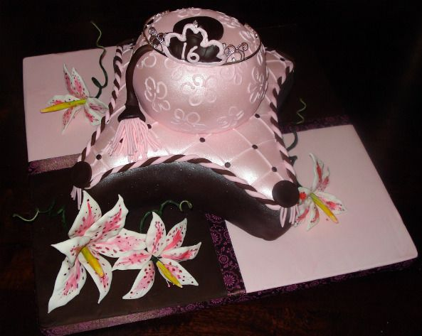 Sweet 16 Themes For Girls Sweet 16 Birthday Cakes Sweet