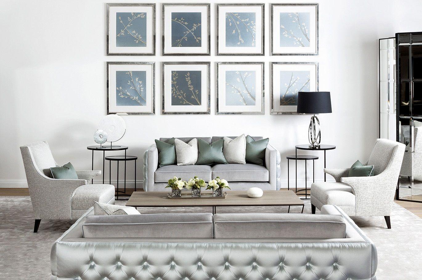 Into The Blue - The Sofa & Chair Company Showroom | Living Room ...
