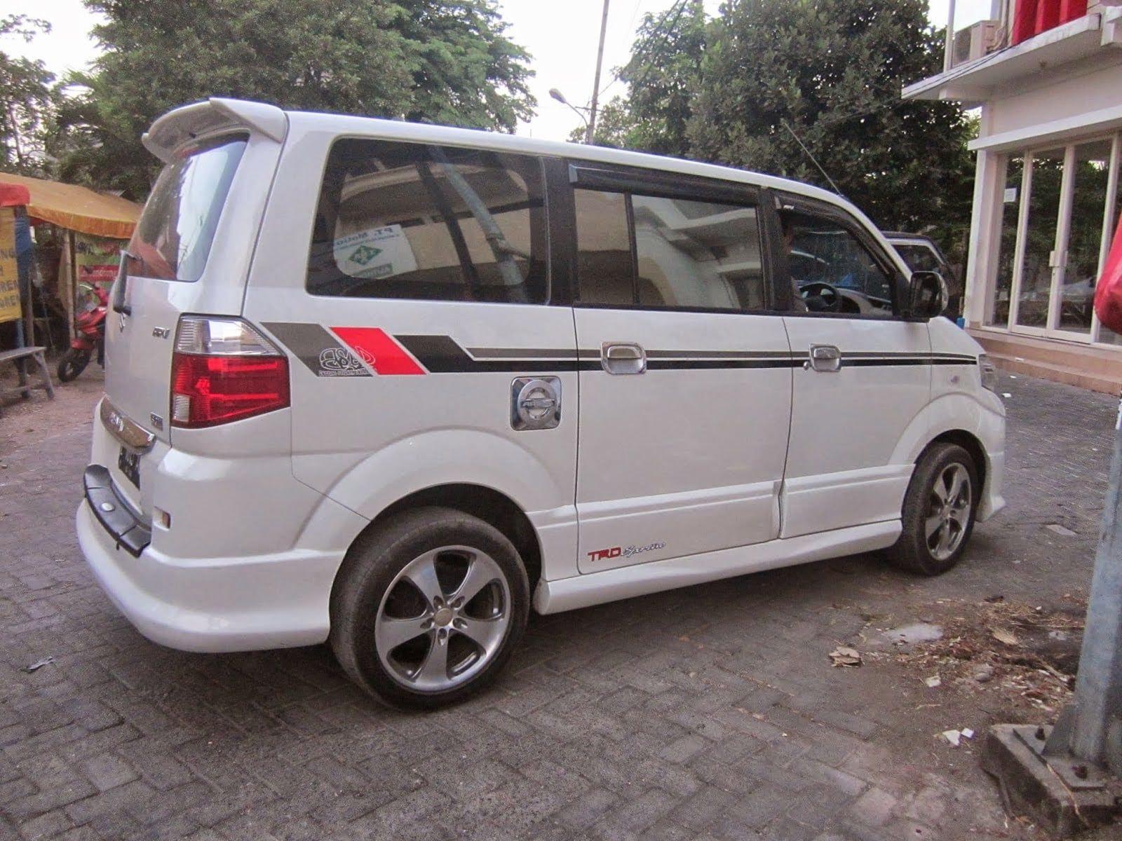 Title Dengan Gambar Modifikasi Mobil Mobil Vans