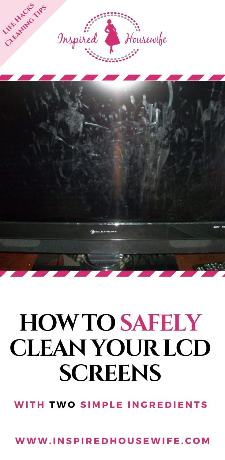 what to use on lcd tv screens to clean