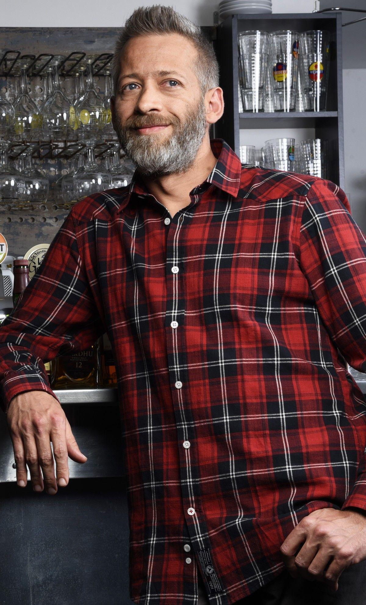 Chemise Carreaux Ecossais Hanjo Mode Homme Motif Rouge Et Noir Idee