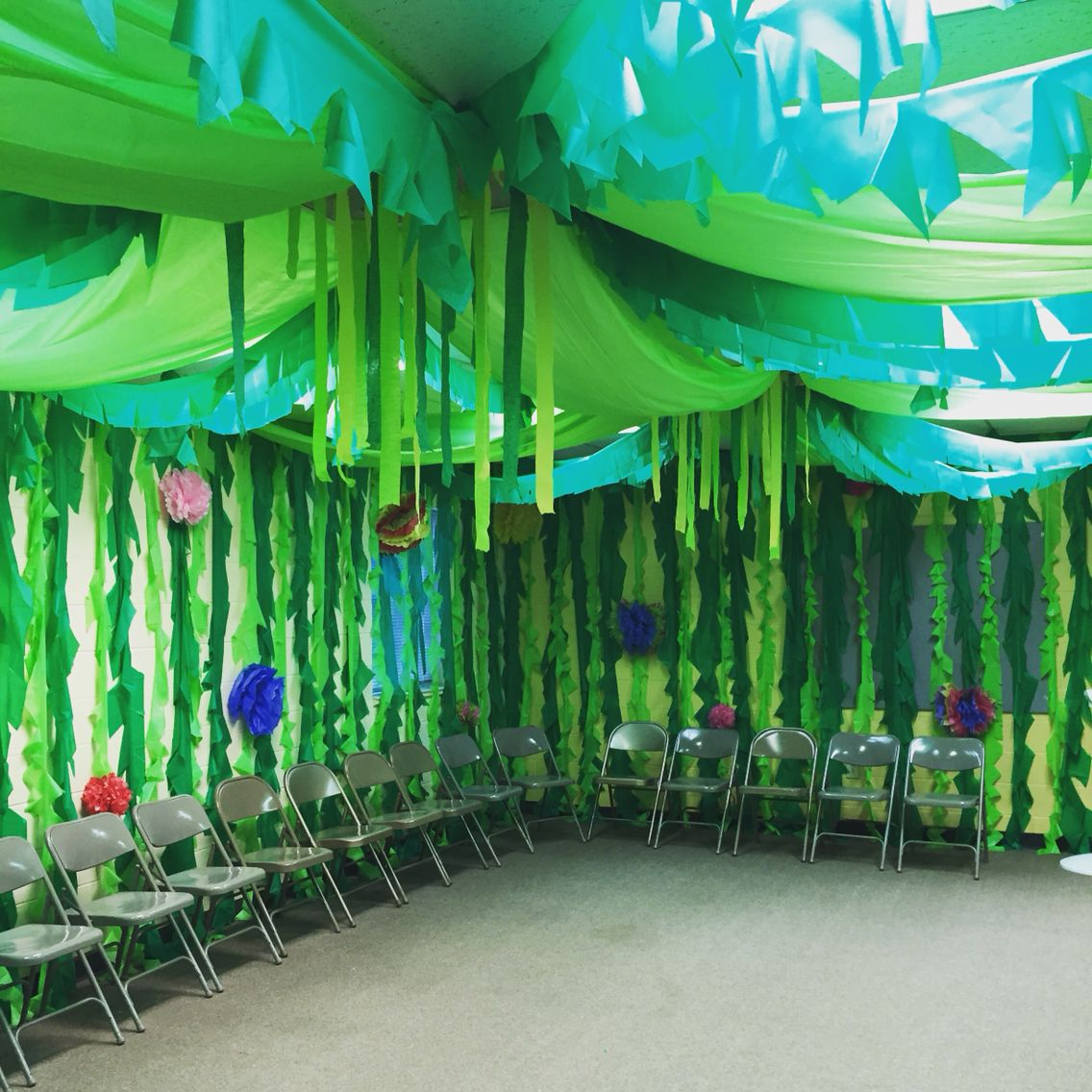 Jungle Safari Vbs: Our VBS Room Done! Journey Off The Map 2015