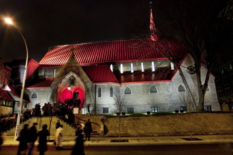 External Lighting Design : Church of St. John the Evangelist, Montreal, Canada 005