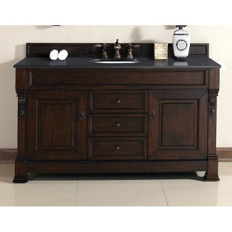 James Martin Brookfield 60 In Single Bathroom Vanity 147 114 5361 2glb Bathroom Vanity Base Double Vanity Bathroom Bathroom Vanities Without Tops