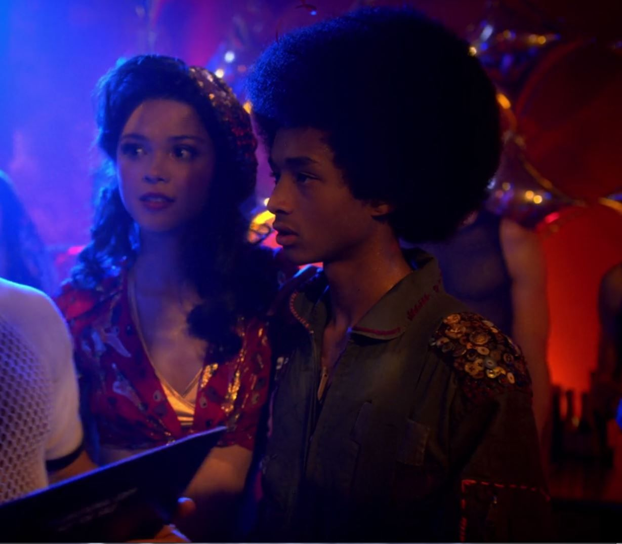skye grayson and jaden smith the get down netflix series skye grayson and jaden smith the get down netflix series female faces character design reference netflix series jaden smith and