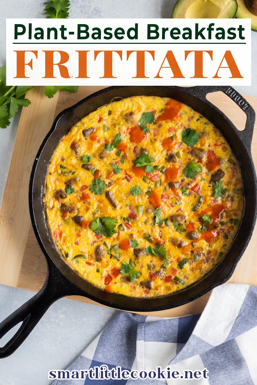 Plant Based Breakfast Frittata Recipe Recipes Plant Based Breakfast Plant Based Recipes