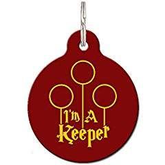 I/'m A Keeper Pet ID Tag FREE Personalization