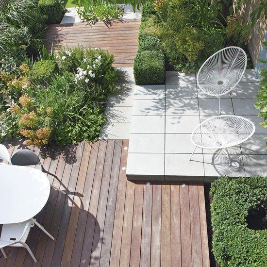 Architectural city garden   Urban garden ideas   Garden   PHOTO GALLERY   Housetohome.co.uk