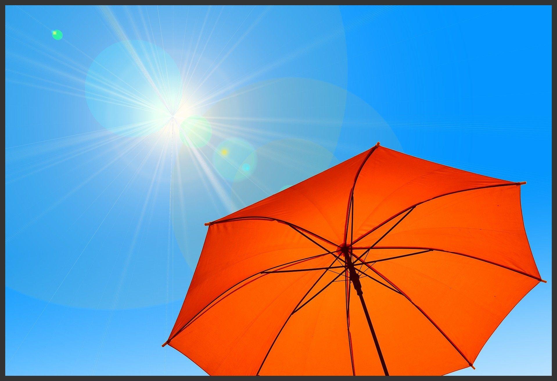 Parasol Umbrella Sun Sonnenschirm Sonnenschirm Fitness And
