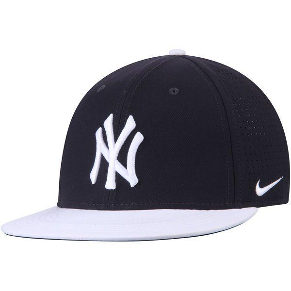 c9c6085d5cb Men s New York Yankees Nike Navy White Aero True Adjustable Hat ...