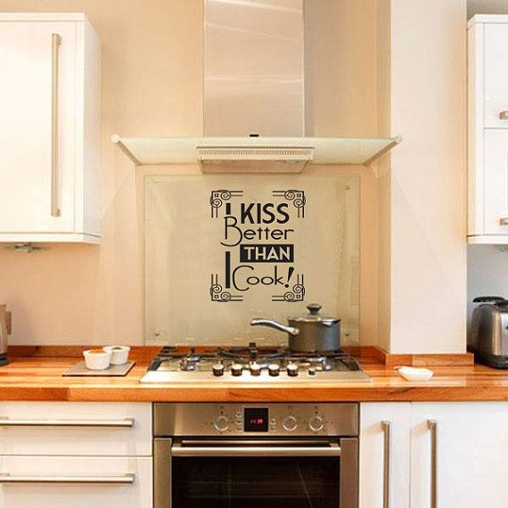 kitchen wall decal kitchen quote novelty funny decal for kitchen i ...