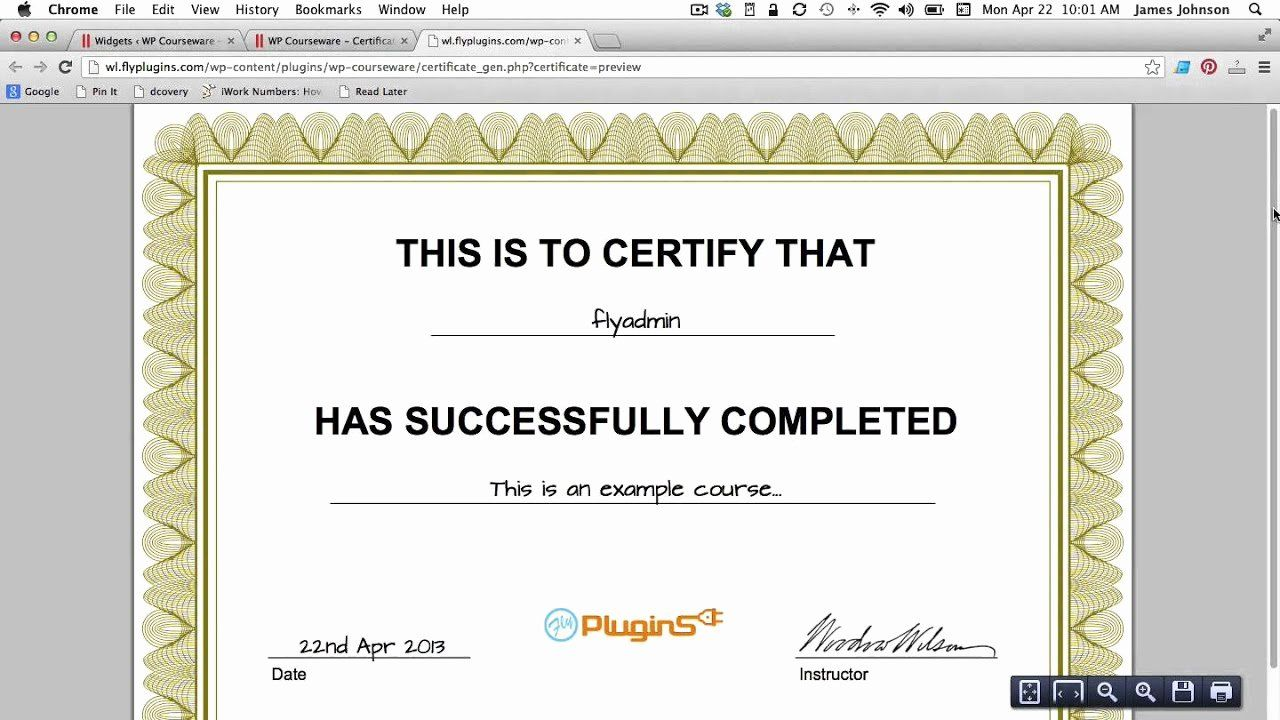 How To Make A Certificate Best Of How To Generate A Pdf Certificate Of Pletion For Your Birth Certificate Template Make A Certificate Certificates Online