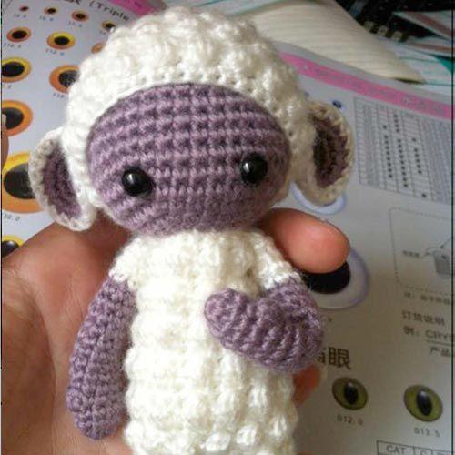 Minis And Mods Haken Crochet 아미구루미 인형 En 코바늘