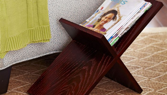 Easy Magazine Display And Storage Wooden Magazine Rack Diy