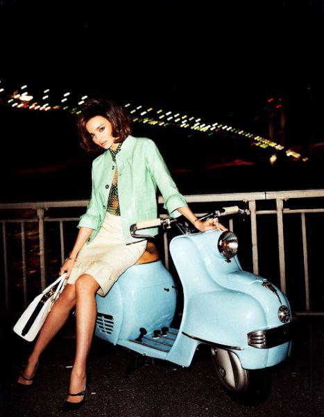 Miranda Kerr's Scooter