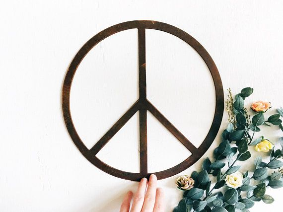 Metal Peace Sign Wall Decor Products