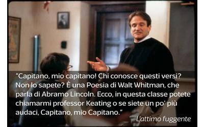 Robin Williams L Attimo Fuggente Citazioni Robin Williams Parole