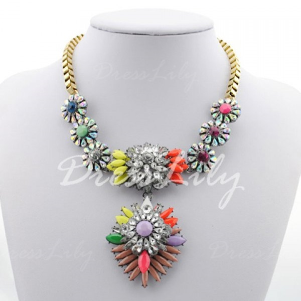 7.71$  Watch now - http://dizas.justgood.pw/go.php?t=YE4231201 - Heronsbill Pendant Alloy Necklace