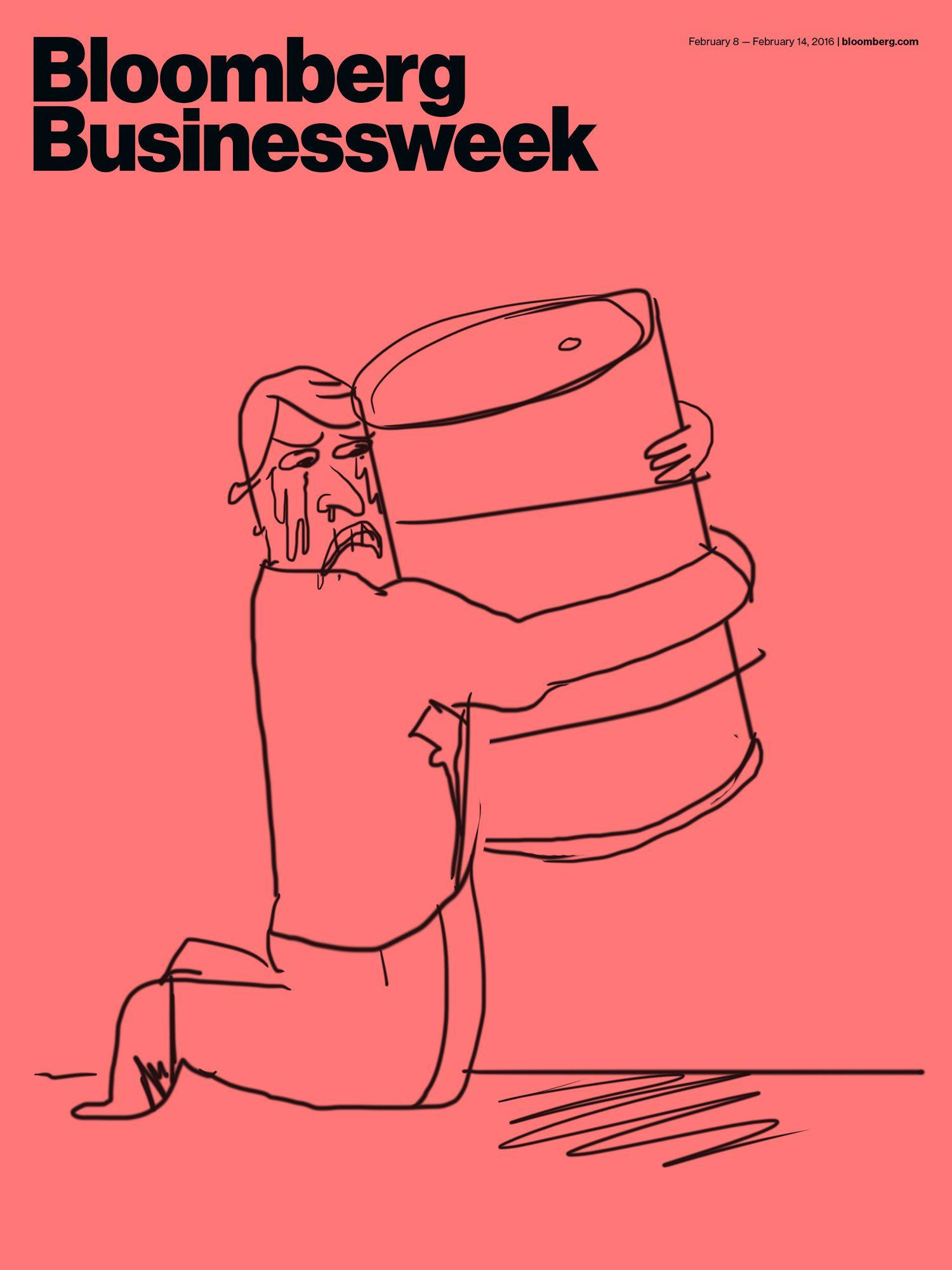 Bloomberg Businessweek cover valentines - Bráulio Amado