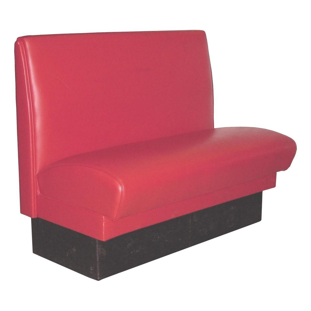 Red Single Booth Quality Constructed Bianco Seats Are Made To Last Many Seats Are Still In Use After Twenty Or More Years The Break Room Seating Upholster