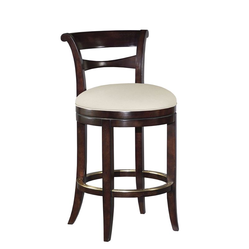 Duralee Providence Bar Stool W Memory Swivel 21w X 23d X 37h Bar Stools Stool Wooden Bar Stools