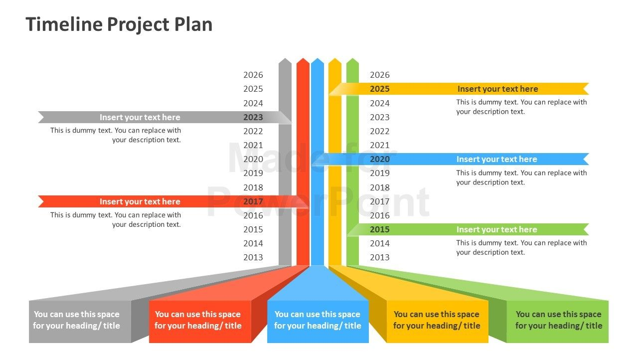timeline project plan powerpoint template 123 projects timeline