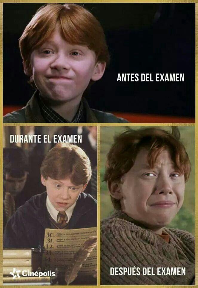 Jajajaja Libros De Harry Potter Memes De Examenes Finales Memes De Harry Potter
