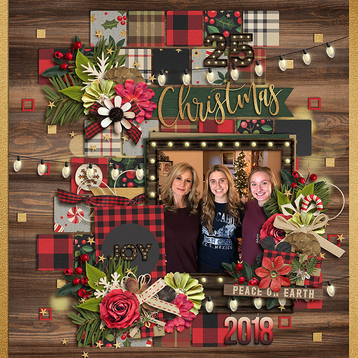 TFL0 Credits: A Country Christmas: by Studio Flergs A Country Christmas: CARDS by Studio Flergs Cindy's Layered Templates - Retake One by Cindy Schneider Layout by Kjersti Sudweeks Sweetshoppe Designs 12x12 Scrapbook Layout Digiscrap Inspiration