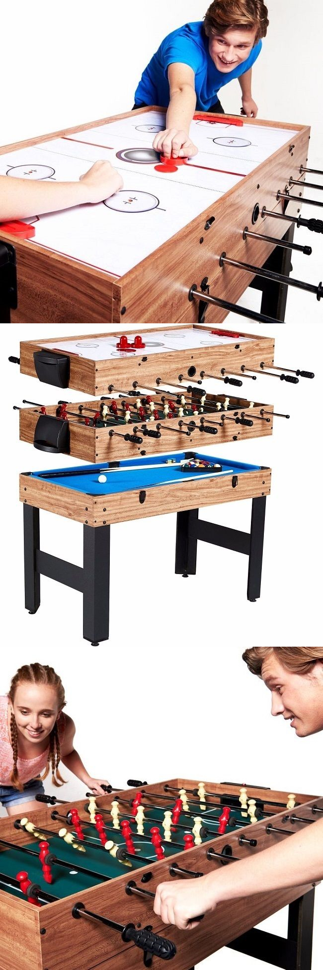 Other Indoor Games 36278: Game Table Hockey Pool Billiards Soccer Foosball  Kids Indoor Sports Tables