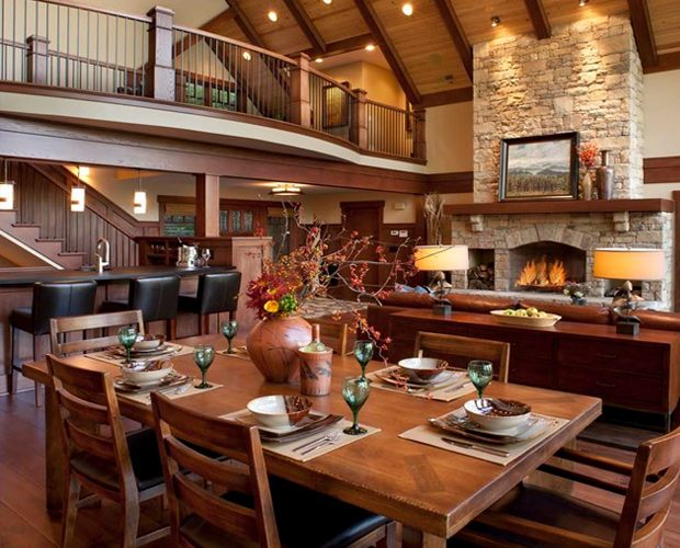 rustic floor plans with vaulted ceilings